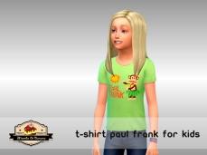 TshirtKidsPaulFrank_Green